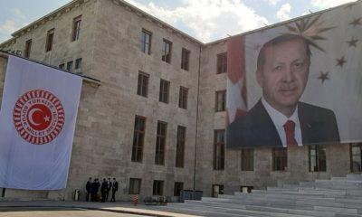 Meclis Erdoğan posteri
