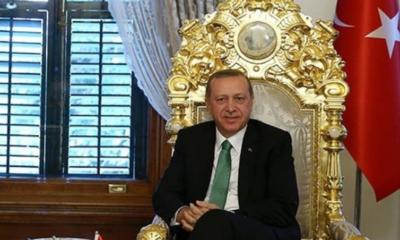 Erdoğan, saray, taht